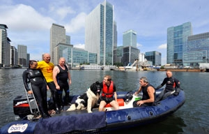 Guide Dogs for the Blind / Canary Wharf