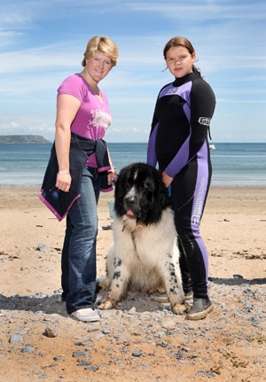 Ellie & Whizz appearing on BBC's The One Show with Claire Baldwin photos by Martin Allard
