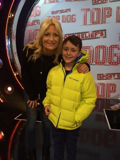 Tol with Gaby Roslin